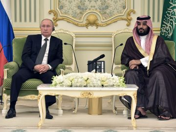 "President Putin and Crown Prince Mohammed Bin Salman spoke Saturday discussed the OPEC+ cooperation ""extensively,"" 13"