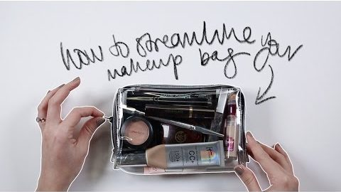 THE ONLY MAKEUP PRODUCTS YOU NEED!