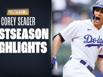 Corey Seager Postseason Highlights (Dodgers SS breaks records, wins World Series MVP!)