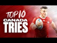 Canadian Flair! 🇨🇦 Canada's Top 10 Tries at the Rugby World Cup 8