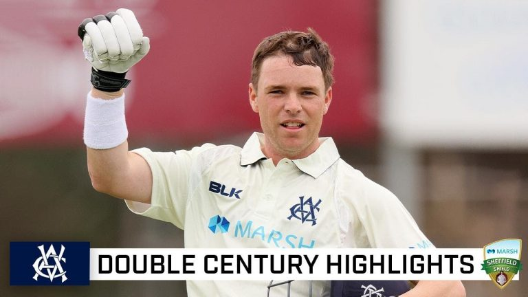 Harris on a high with stunning double ton | Marsh Sheffield Shield 2020-21