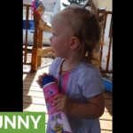 Baby girl ecstatic when her daddy arrives home