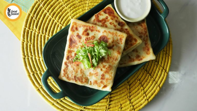 Chicken Tikka Crepes Recipe By Food Fusion