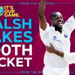 First EVER Player To Take 500 Test Wickets! | Courtney Walsh vs Jacques Kallis | Windies