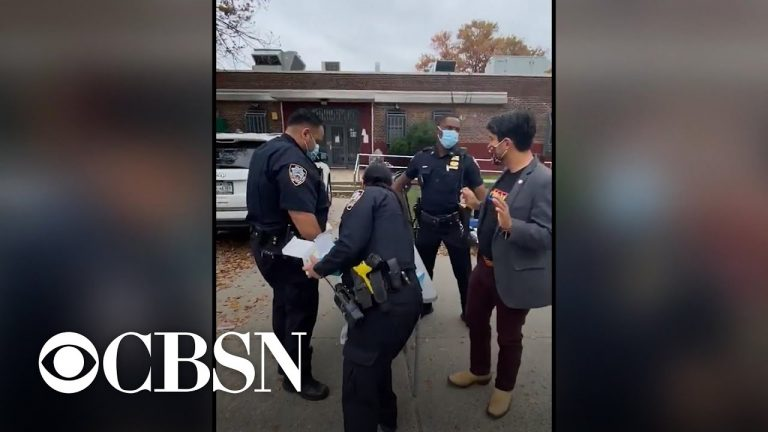 NYPD beefs up security presence at polling locations, prompting some concerns