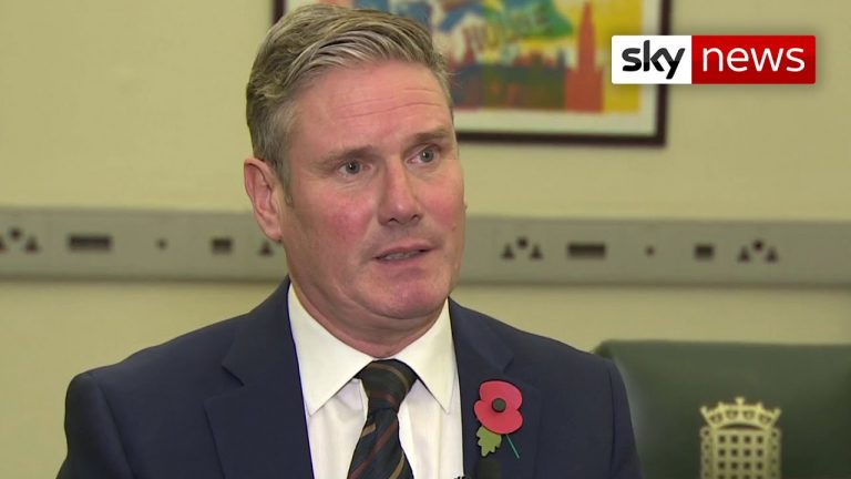 Starmer: Government 'too slow' to implement lockdown in England
