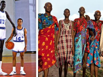 The Tallest People In The World (Dinka Tribe)