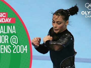 Cătălina Ponor's Energetic Gold Medal Floor Routine at Athens 2004 | Music Monday