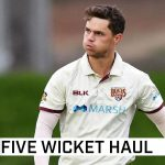 Swepson produces wonder-ball on way to five wickets | Marsh Sheffield Shield 2020-21