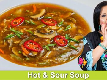 It's that time of the year! Hot & Sour Chicken & Veg Soup Recipe in Urdu Hindi - RKK