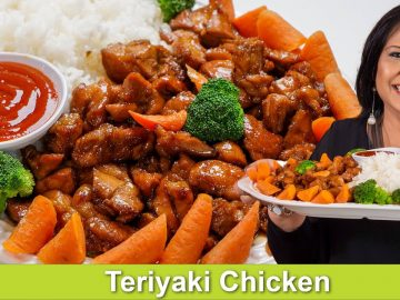 Chicken Teriyaki with Sticky Rice Recipe in Urdu Hindi - RKK
