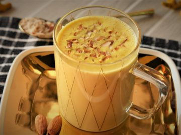 Golden Milk -Turmeric Milk - Haldi Doodh (Best for Winter) Recipe By Food Fusion