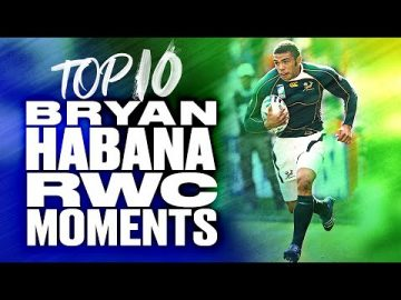 🏉 Bryan Habana's Top 10 RWC Tries ⚡️ 12