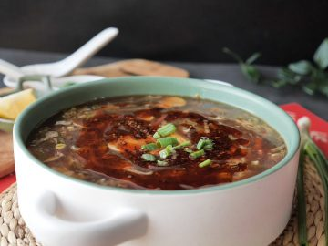 Hot and Sour Vegetable Soup Recipe By Food Fusion