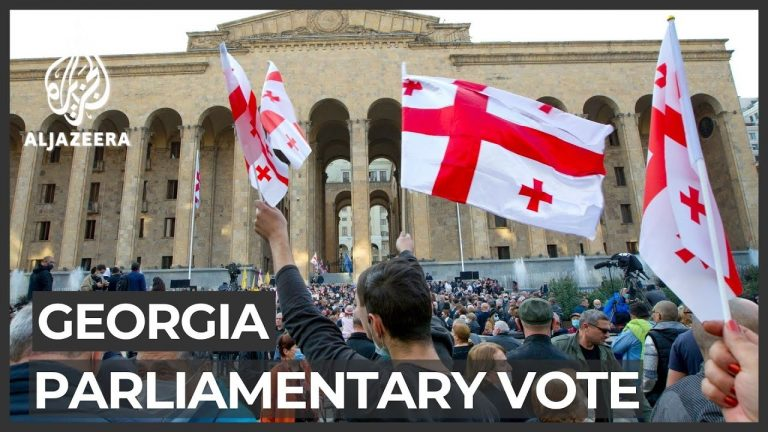 Georgia: Thousands protest election results, demand fresh poll
