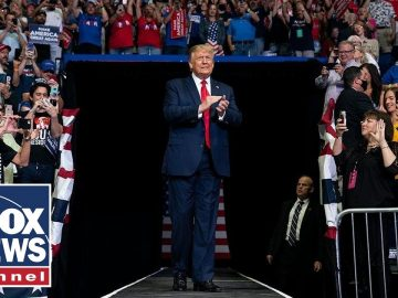 Trump holds 'Make America Great Again' rally in Scranton, PA