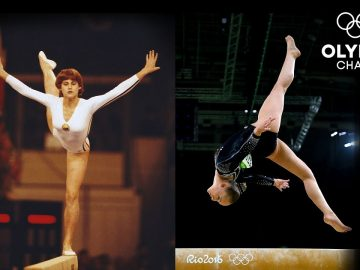 Balance Beam Through The Years | Olympic Memories