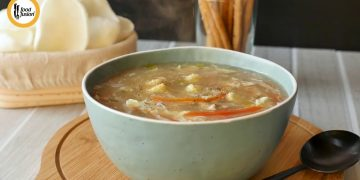 Restaurant Style Hot and Sour White Soup Recipe By Food Fusion