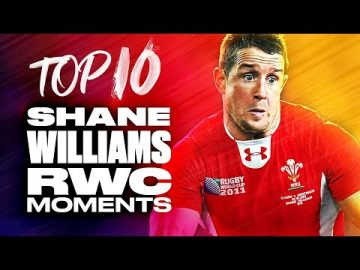 🐉 Welsh Wing Wizard 🌼 | Top 10 Shane Williams RWC Moments 11