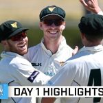 Silk leads Tassie response after NSW are routed for 64 | Marsh Sheffield Shield 2020-21