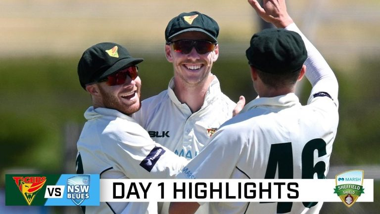 Silk leads Tassie response after NSW are routed for 64   Marsh Sheffield Shield 2020-21