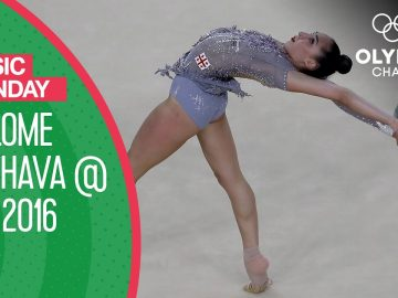 "Salome Pazhava's Ball Routine to ""Chalkboard"" at Rio 2016 