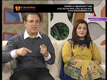 Best Skin Specialist in Pakistan Dr. Shumaila Khan discussing the hair problems