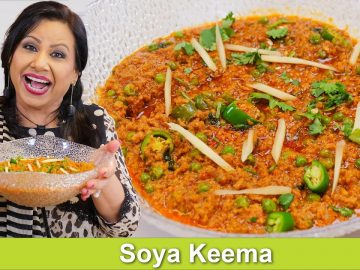 You won't believe this is not keema! Veg or Soya Keema Recipe in Urdu Hindi - RKK