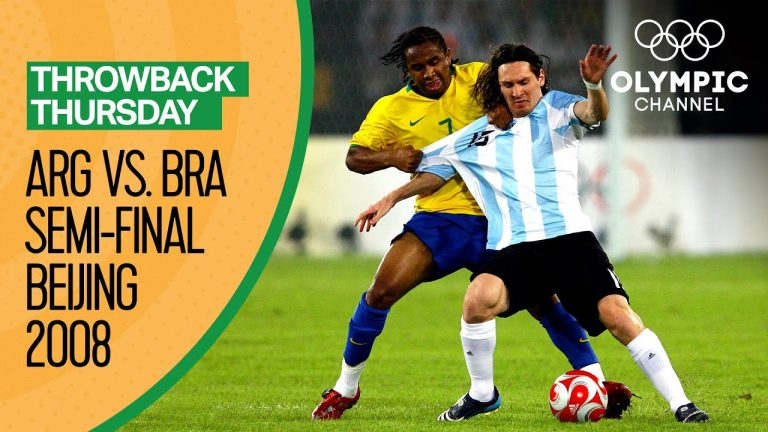 Argentina vs Brazil - Highlights | Men's Football Beijing 2008 | Throwback Thursday