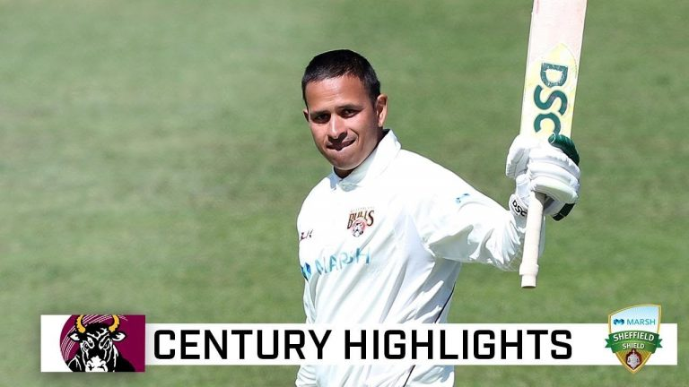 Khawaja breaks through for first Shield ton in three years | Marsh Sheffield Shield 2020-21