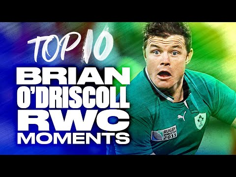 🔟 Brian O'Driscoll's Top 10 Rugby World Cup Moments ☘️ 1
