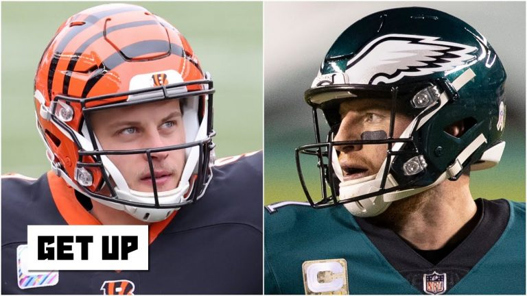 Why Joe Burrow has impressed & Carson Wentz has disappointed this season | Get Up