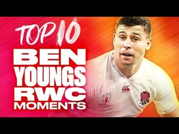 🌹 Ben Youngs Top 10 Rugby World Cup Moments 🌹 9