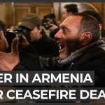 Anger and shock in Armenia over Nagorno-Karabakh ceasefire deal