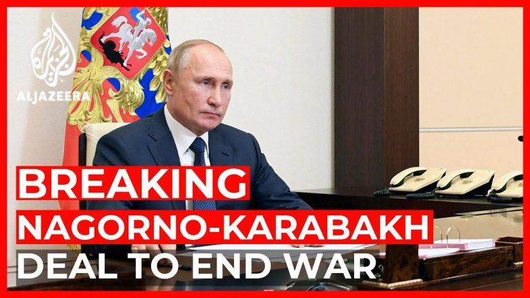 Armenia, Azerbaijan, Russia sign deal to end Nagorno-Karabakh war