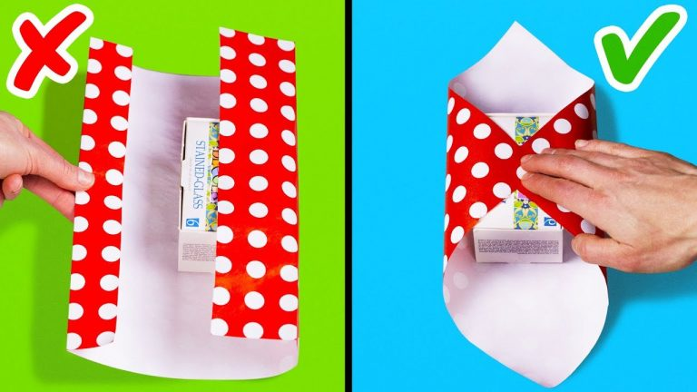 25 EASY GIFT WRAPPING IDEAS AND HACKS