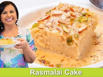 Rasmalai Cake One Pan No Oven Fast & Easy Recipe in Urdu Hindi - RKK