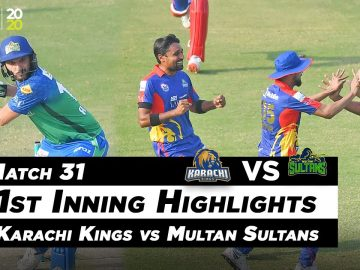 Karachi Kings vs Multan Sultans | 1st Inning Highlights | Match 31 | MB2O | HBL PSL 2020