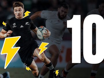🔟 Beauden Barrett's Top 10 RWC Moments 🇳🇿 5