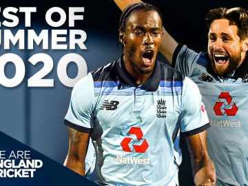 Relentless England Bowling Stuns Australia! | England v Australia 2nd ODI | Best of Summer 2020