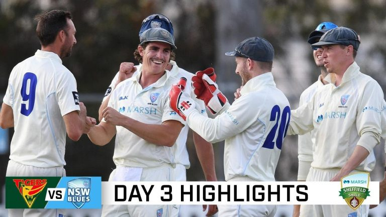 Abbott and Starc dominate with the bat in rollercoaster match | Marsh Sheffield Shield 2020-21
