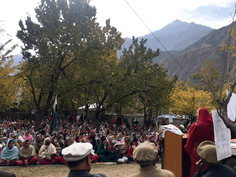 PTI Party, which promised to upgrade the Himalayan region's status, won 10 of the 23 seats. 6