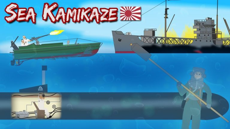 Sea Kamikaze (WWII Military Tactic)