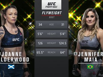 UFC 255 Free Fight: Jennifer Maia vs Joanne Calderwood