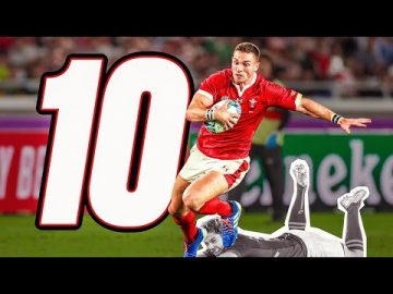 🔟 George North's Top 10 RWC Moments 🐉 4