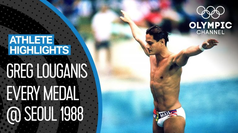 The greatest diver of all-time? Greg Louganis at Seoul 1988 🇺🇸 |Athlete Highlights 1