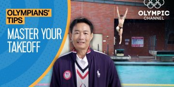 How to improve your Diving Takeoff feat. Hongping Li | Olympians' Tips