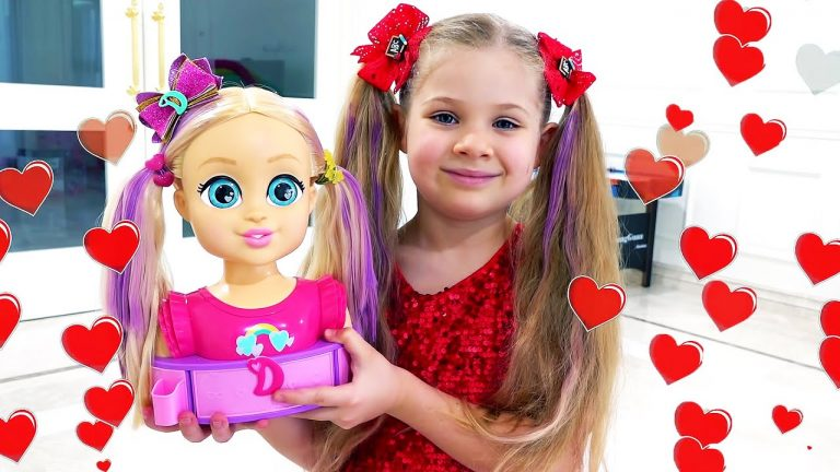 Diana and Roma Pretend Play with Dolls | Funny stories for kids 1