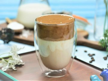 Dalgona Mocha Coffee Recipe By Food Fusion