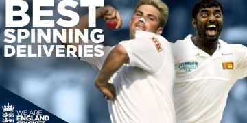 Warne's Ball of the Century! | BIGGEST Spinning Deliveries of all Time! | England Cricket